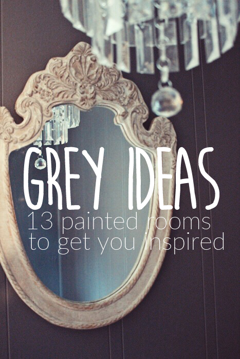 grey room home decor