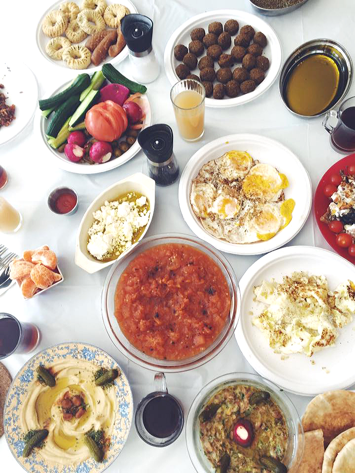 Middle Eastern Jordanian Brunch