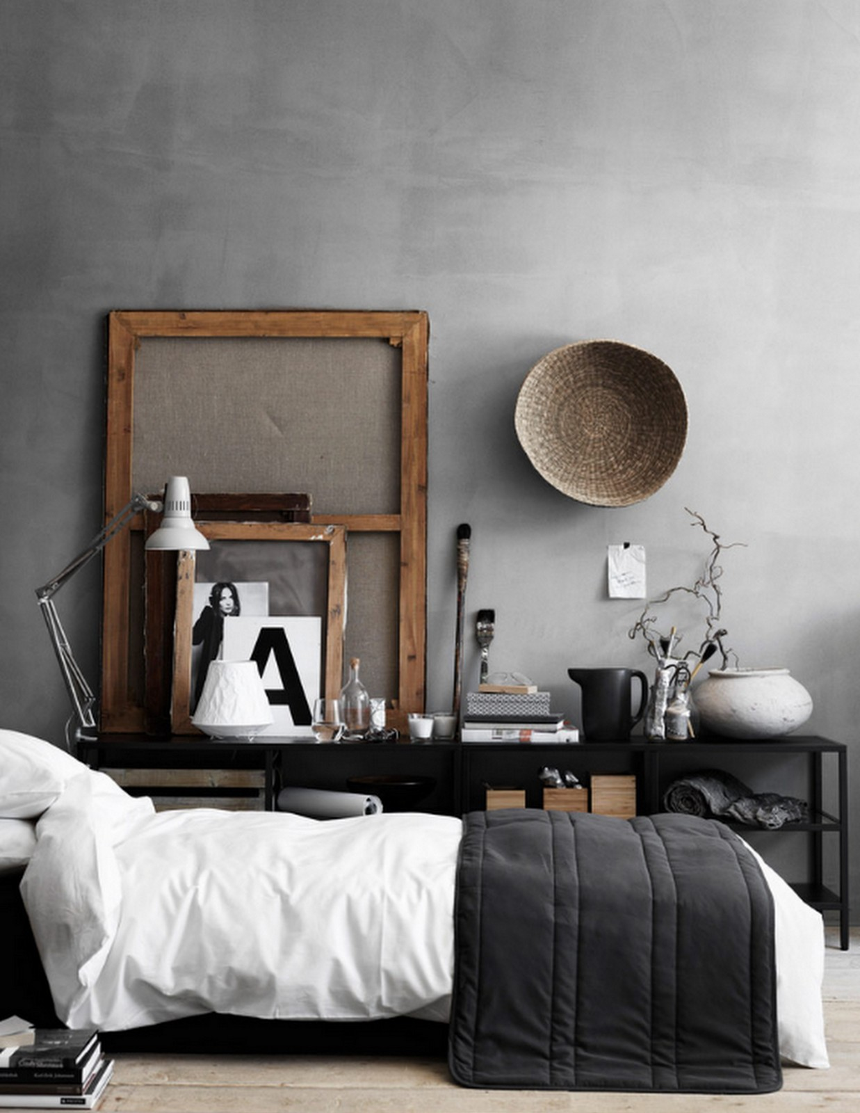 that's ikea grey bedroom