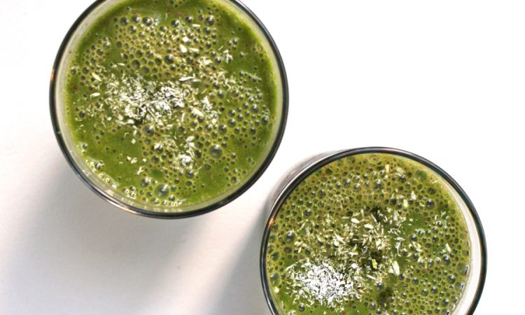 Recipe for Refreshing Rose Water Matcha Green Smoothie