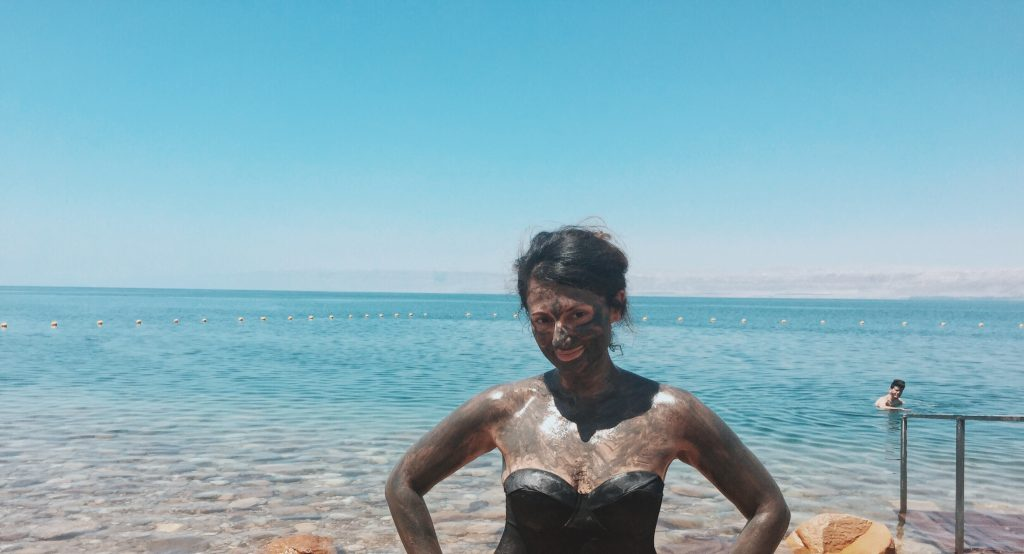 A dip in the Dead Sea, Jordan