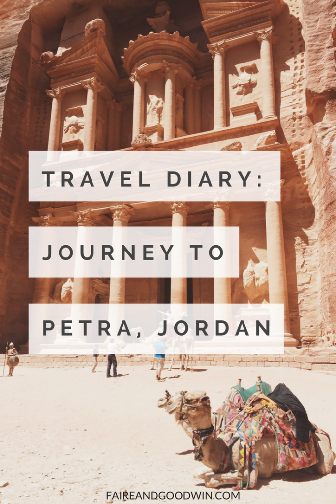 Travel Diary: Journey to the Rose City of Petra, Jordan